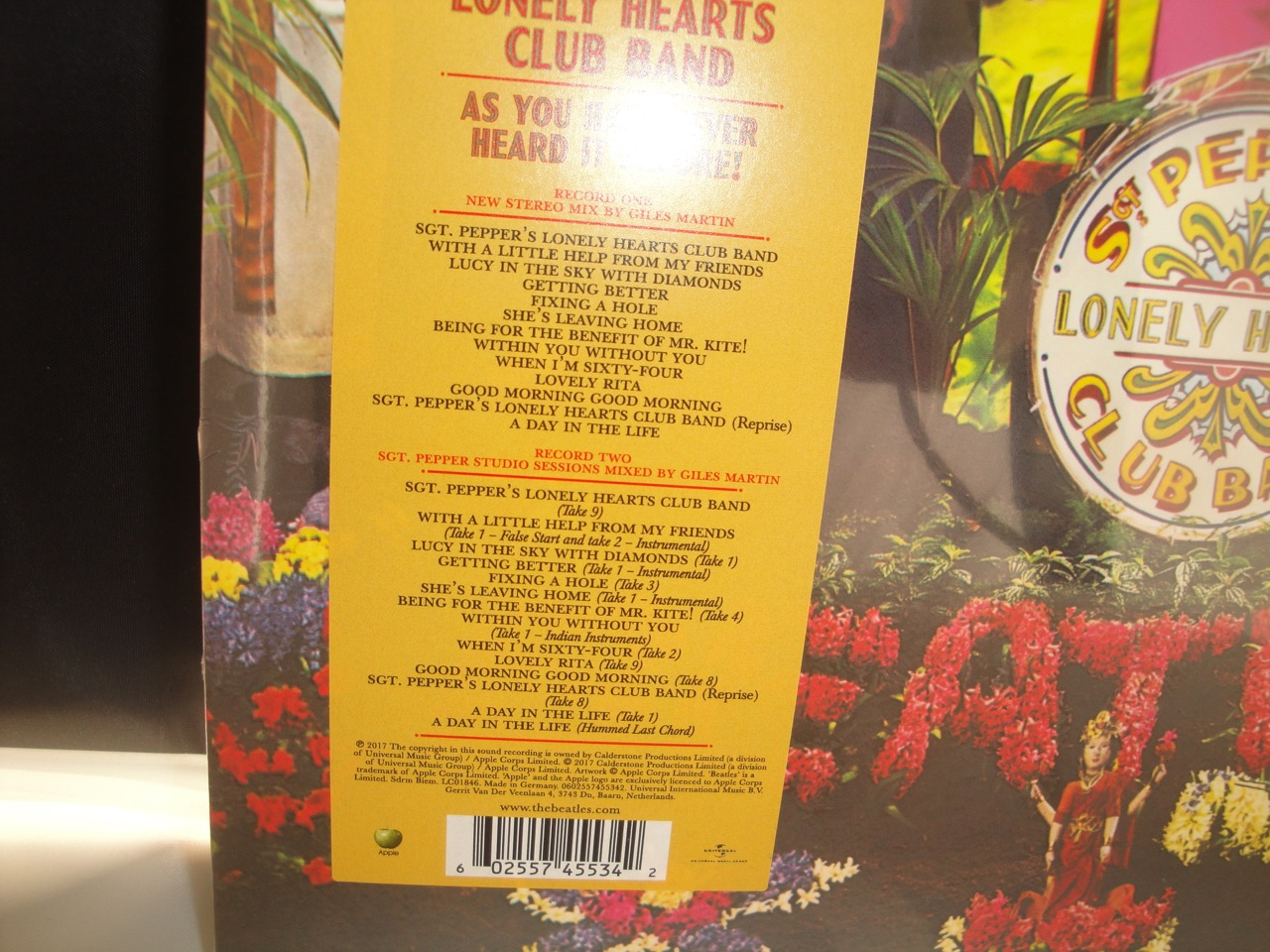 Sgt Pepper Vinyl New The Beatles Sgt Pepper S Lonely