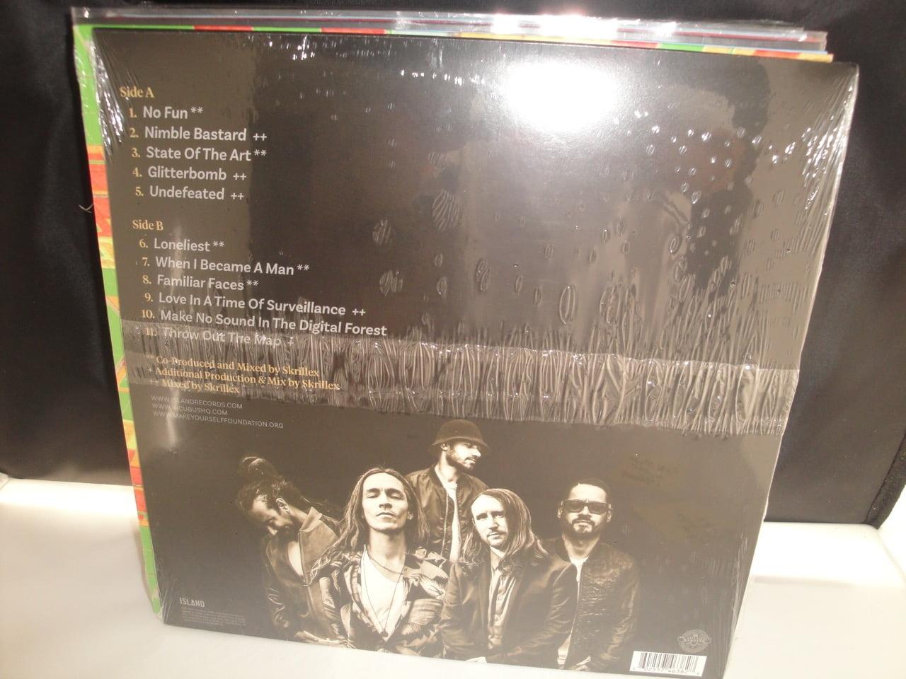 Incubus - 8 - 2017 Vinyl LP with Skrillex
