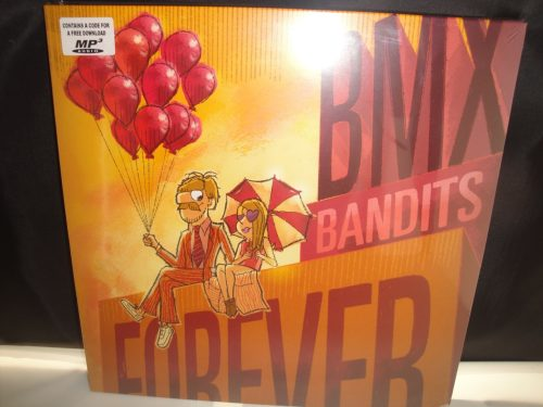 Bmx Bandits - Forever - Limited Edition Orange Vinyl LP 2017