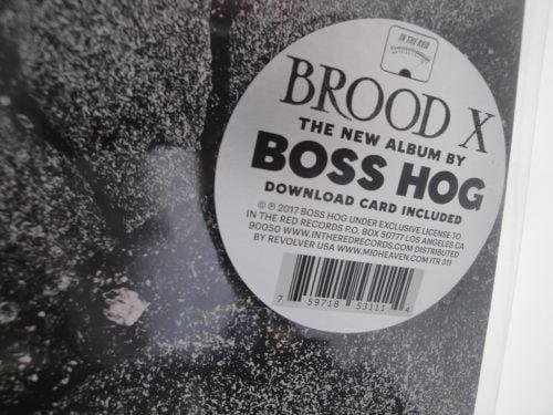 Boss Hog - Brood X - Vinyl LP Fold-out Gatefold 2017