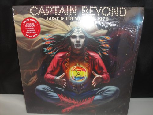 Captain Beyond - Lost & Found 1972-1973 - Ltd Ed Red Colored Vinyl 2017