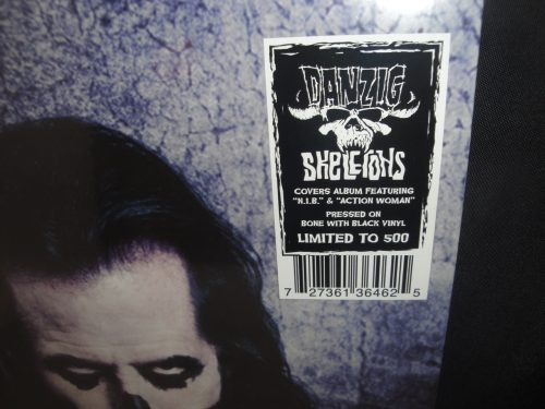 Danzig - Skeletons - Limited Edition Purple/Black Splatter Vinyl LP 2017