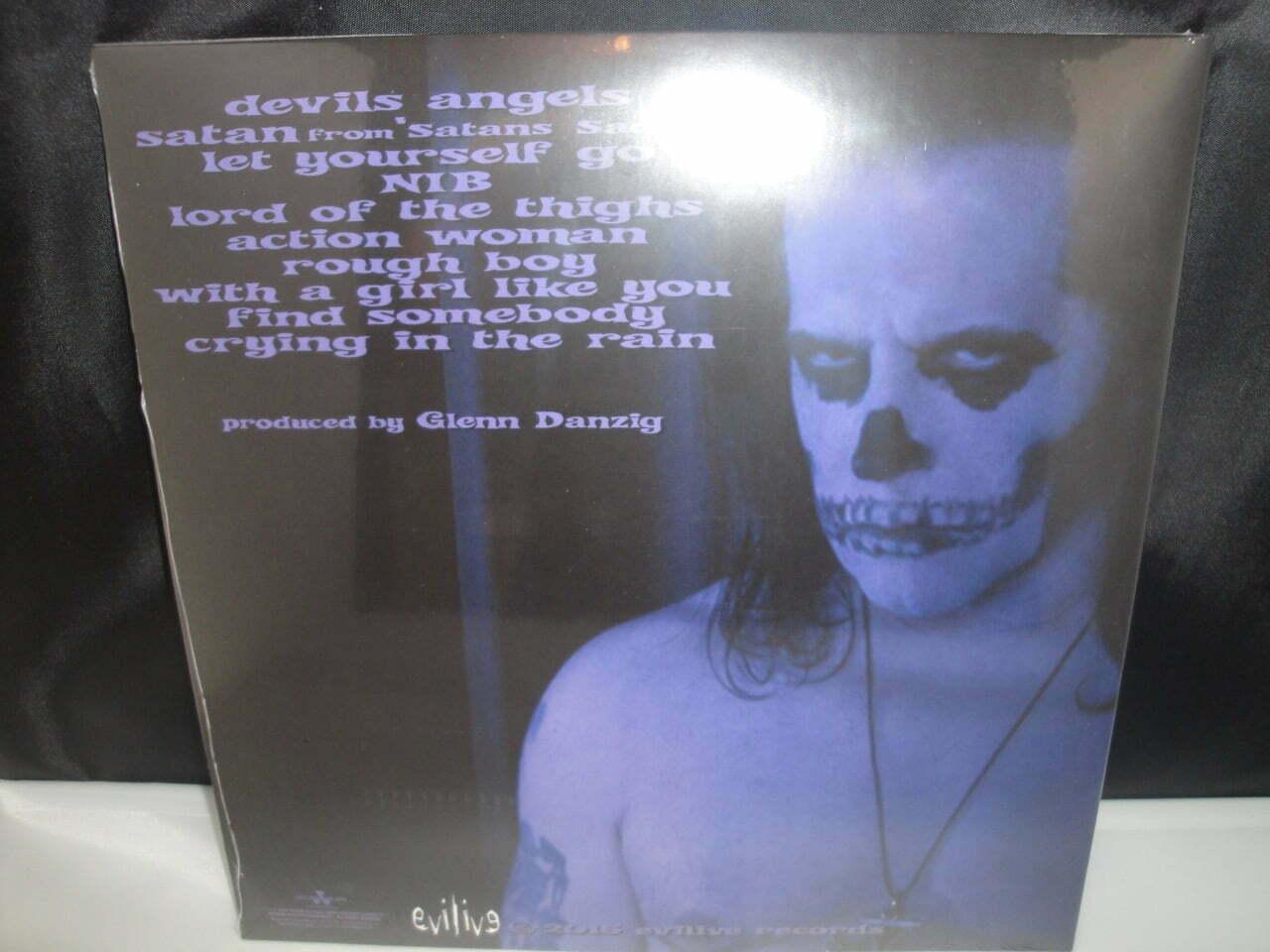 Danzig - Skeletons - Limited Edition Purple/Black Splatter Vinyl LP 2017
