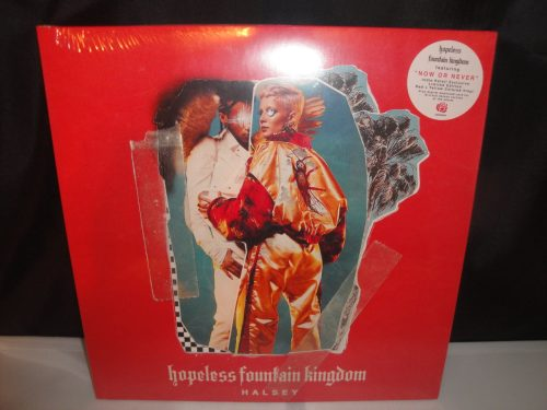 Halsey - Hopeless Fountain Kingdom - Ltd Ed Red-Yellow Splatter w Bonus 7""