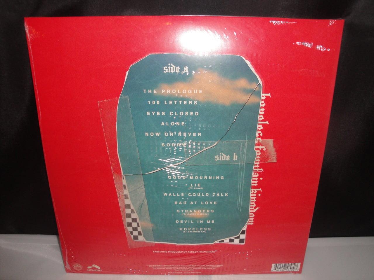 "Halsey - Hopeless Fountain Kingdom - Ltd Ed Red-Yellow Splatter w Bonus 7"""