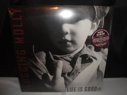 Flogging Molly - Life Is Good - Ltd Ed Red Colored Vinyl 2017