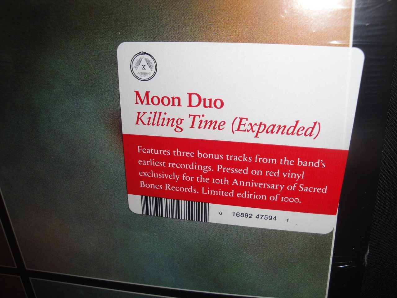 Moon Duo - Killing Time - Red Colored Vinyl, Expanded Version for 2017