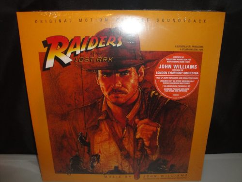 The Raiders Of The Lost Ark (Original Soundtrack) Double Vinyl Reissue 2017