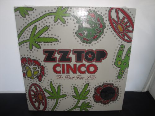 ZZ Top - Cinco: The First Five Lps - Vinyl Boxed Set, 180 Gram Limited