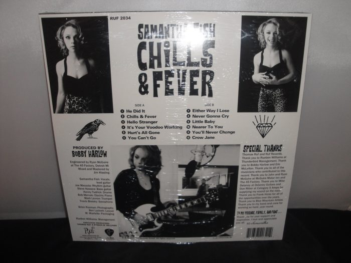 Samantha Fish - Chills & Fever - 2017 Vinyl Blues - Ruf Records