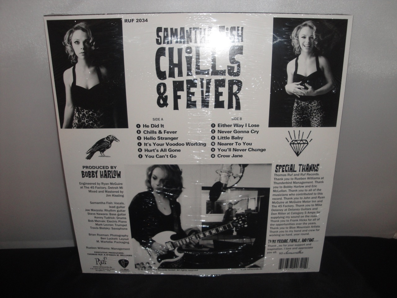 Samantha fish chills fever 2017 vinyl blues ruf for Samantha fish chills and fever