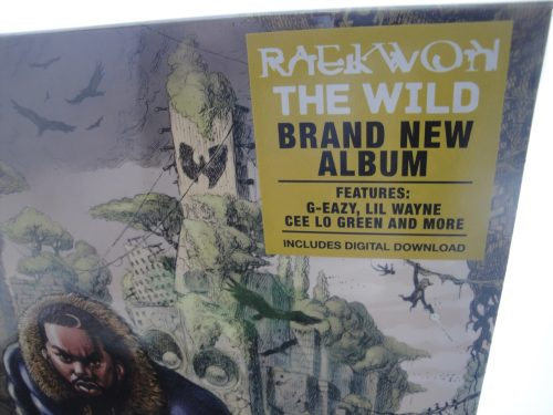 Raekwon - The Wild - Vinyl LP, Explicit Content, White Vinyl, 2017