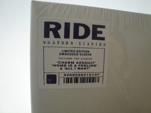 Ride - Weather Diaries - 2XLP, Gatefold, 2017