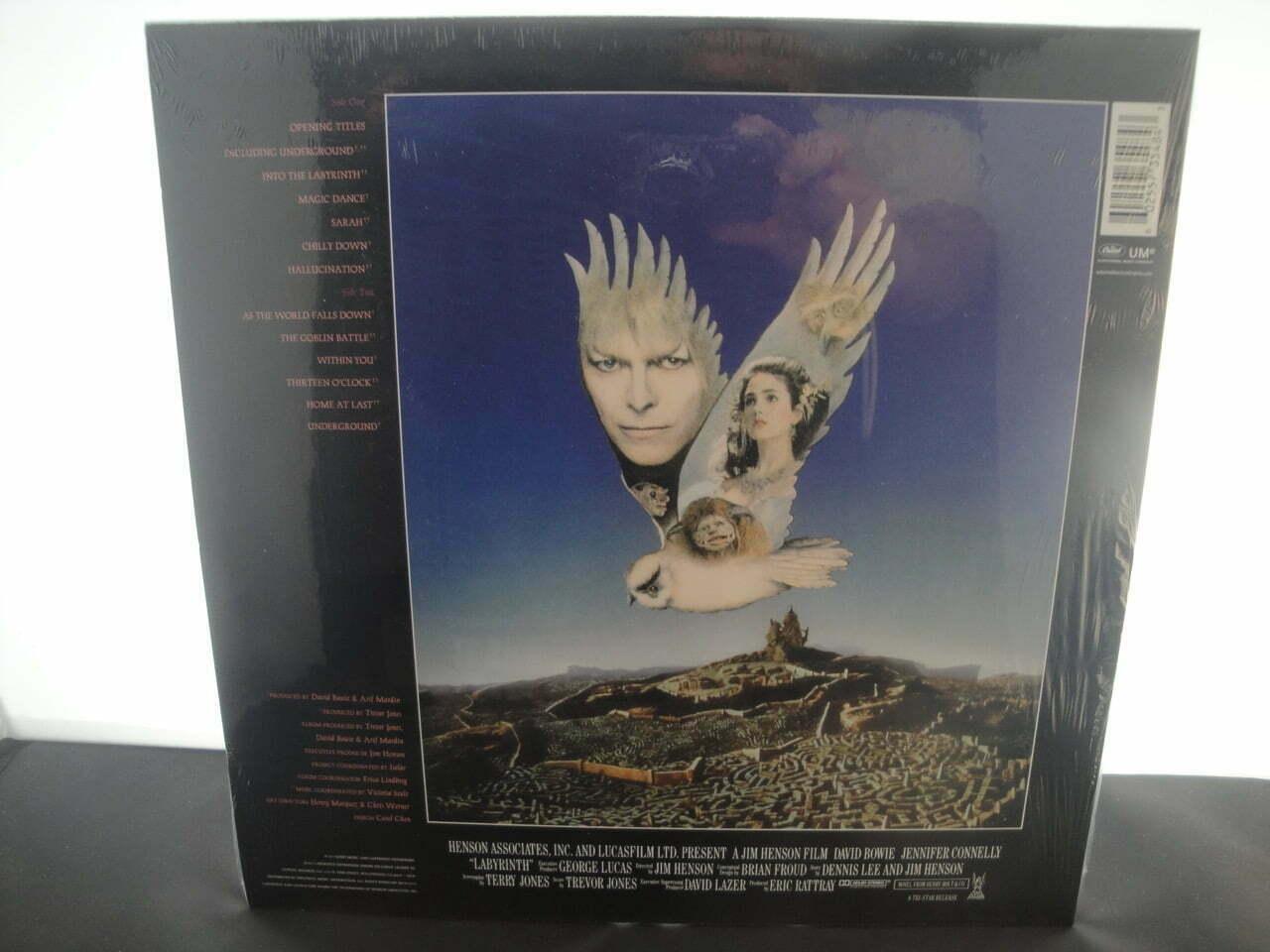 David Bowie Amp Trevor Jones Labyrinth Soundtrack 2017
