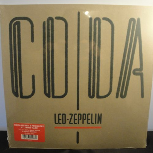 Led Zeppelin - Coda - 180 Gram Vinyl, Remastered 2015, New, Sealed