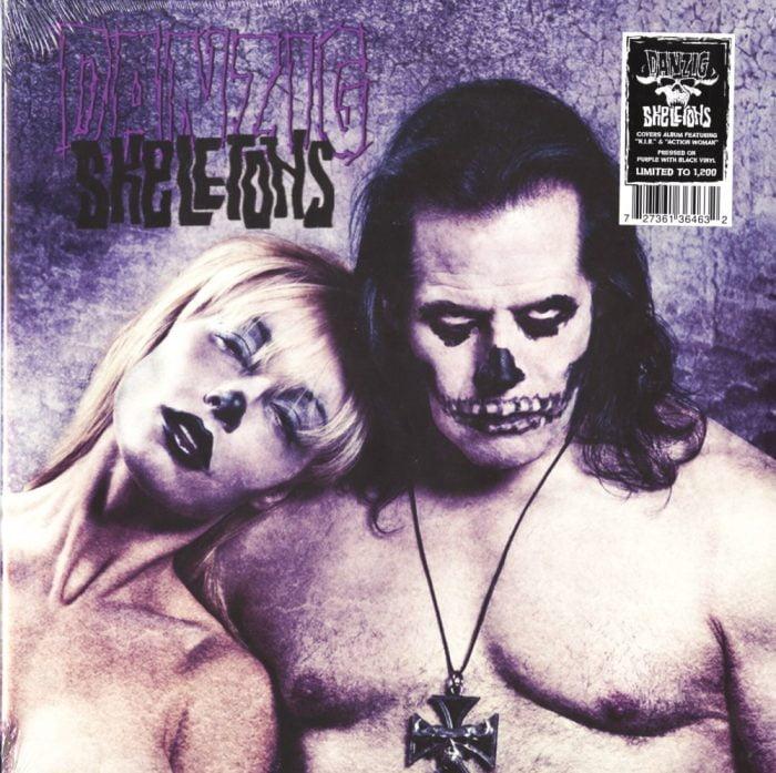 Danzig - Skeletons - Limited Edition, Bone/Black Splatter, Colored Vinyl, LP, Nuclear Blast, 2017