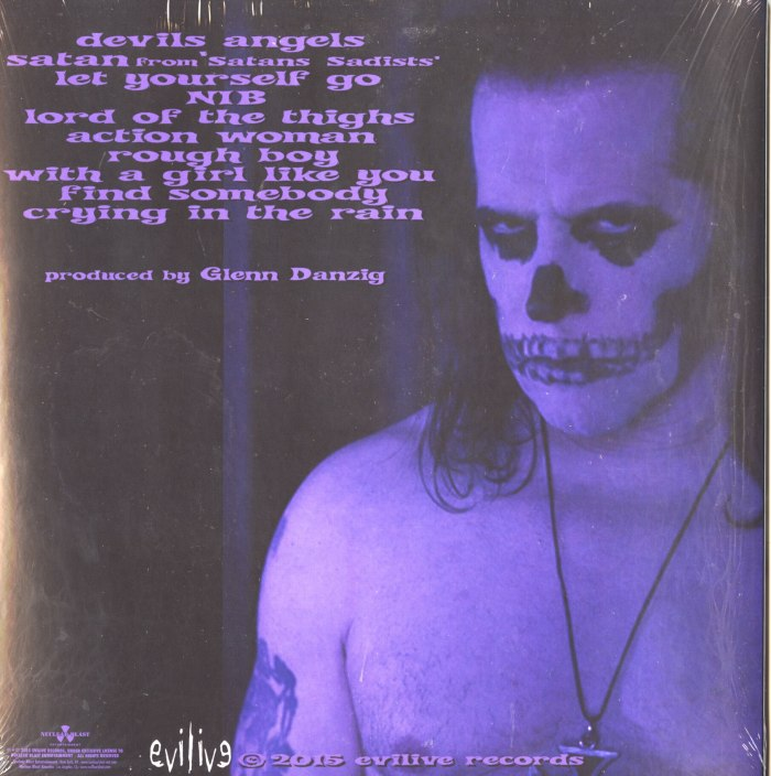Danzig - Skeletons - Limited Edition, Bone/Black Splatter, Colored Vinyl, LP, Nuclear Blast, 2017