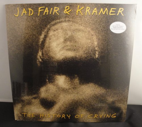 Jad Fair and Kramer - The History Of Crying - Ltd Ed Vinyl, Signed, Numbered by Kramer
