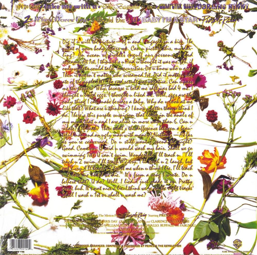 Prince - Purple Rain - Limited Edition, 180 Gram, Vinyl, Remastered, 2008