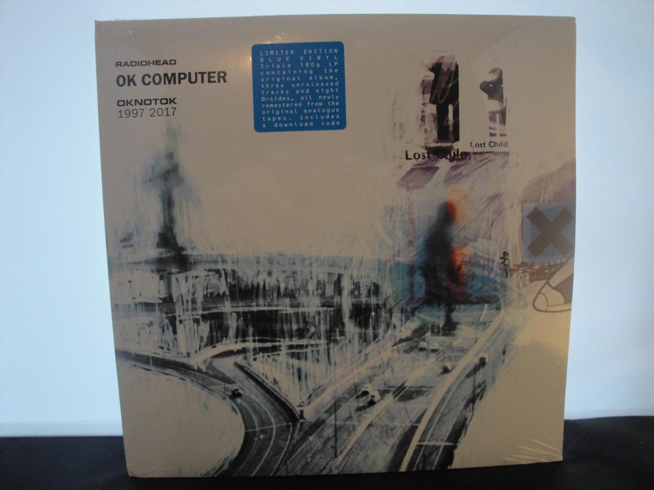 Radiohead - Ok Computer Oknotok 1997 2017 - 3XLP Blue Vinyl
