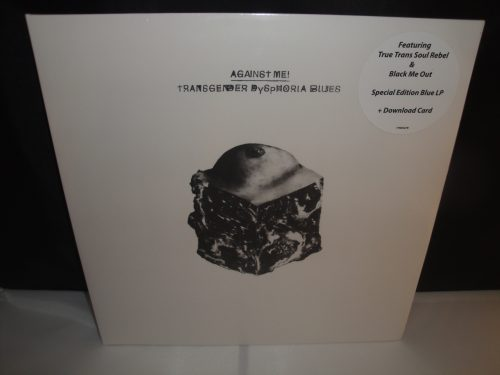 Against Me - Transgender Dysphoria Blues - Limited Translucent Blue Vinyl LP, 2017