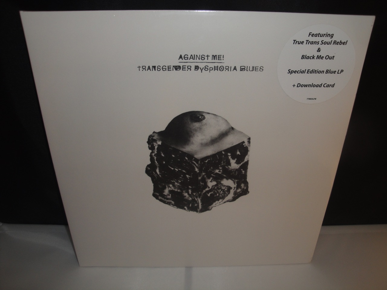 Against Me - Transgender Dysphoria Blues - Limited Translucent Blue Vinyl LP, 2017