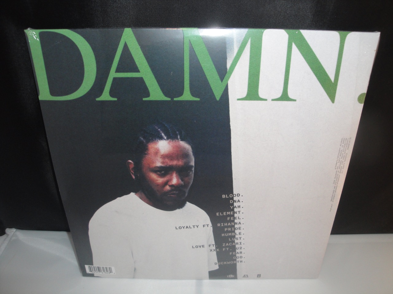 Kendrick lamar damn explicit content 2xlp vinyl new - Kendrick lamar swimming pools explicit ...