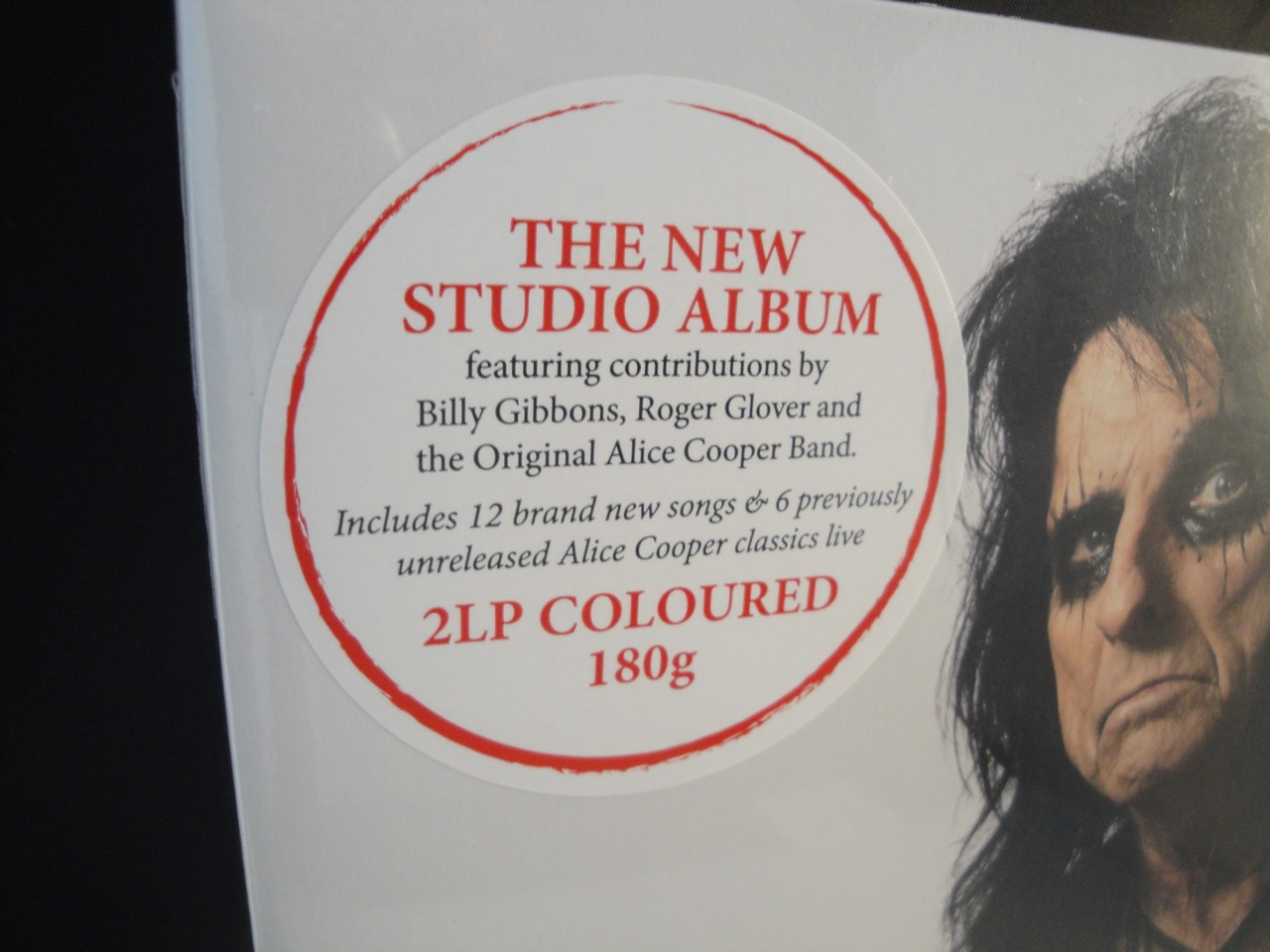 Alice Cooper - Paranormal - Limited Edition, Red Vinyl, 2XLP, 180 Gram, 2017