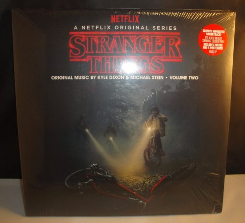 Stranger Things: Deluxe Edition, Vol. 2, Colored Vinyl, 180 Gram, Poster
