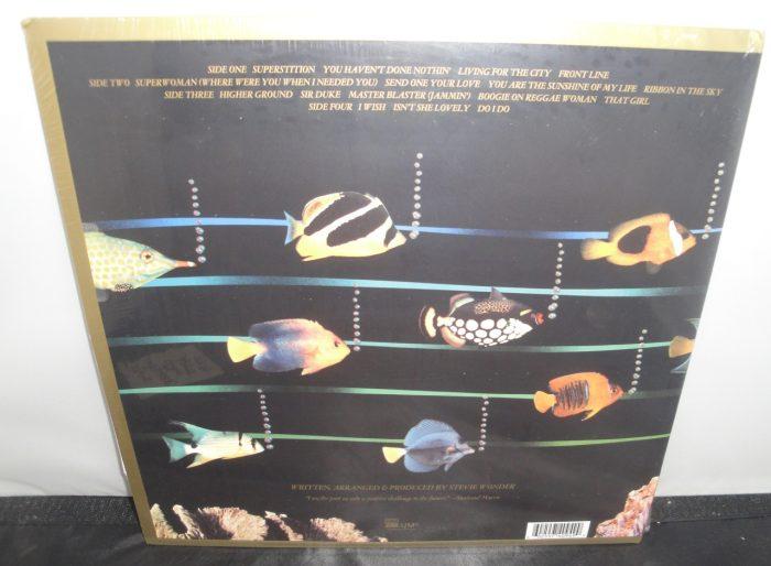 Stevie Wonder - Original Musiquarium - Limited Ed 2XLP Gatefold Reissue, 2017