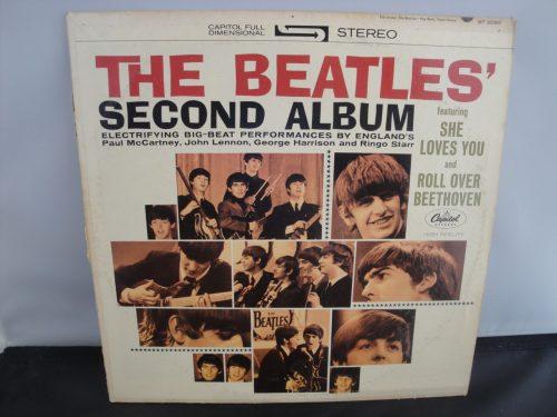 The Beatles - Second Album - 1964, Stereo Repress, Rare Stereo Label