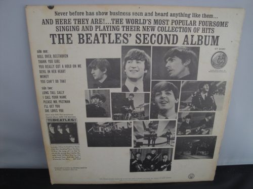 The Beatles - Second Album - 1964, Stereo Repress, Rare Stereo Label
