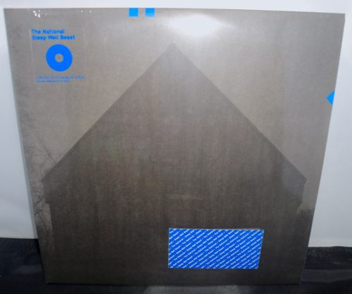 The National - Sleep Well Beast - Ltd Ed 2XLP, Blue Vinyl, 2017, 4AD