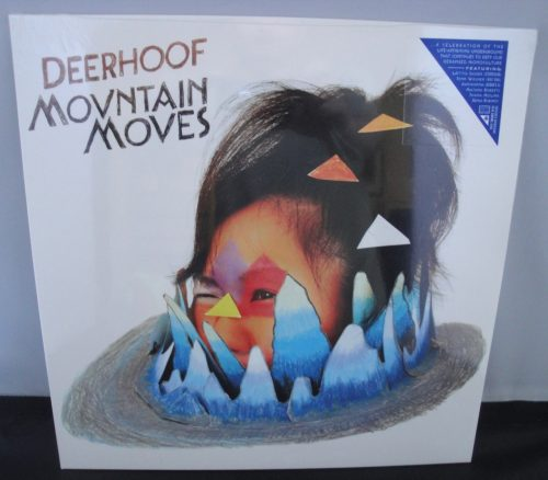 Deerhoof - Mountain Moves - Limited Edition, Blue Swirl Vinyl, 2017