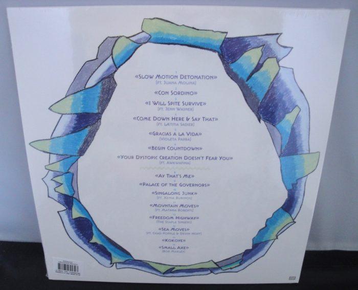 Deerhoof - Mountain Moves - Limited Edition, Blue Swirl Vinyl, 2017