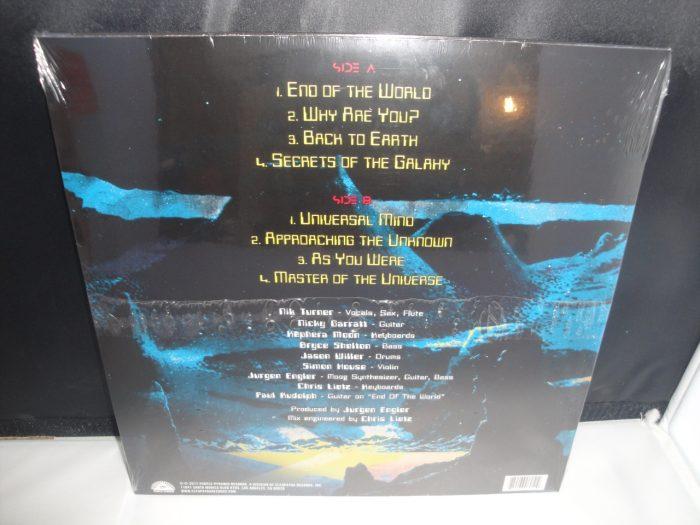 Nik Turner - Live In Space - 2017 Ltd Ed Blue Vinyl LP, Hawkwind