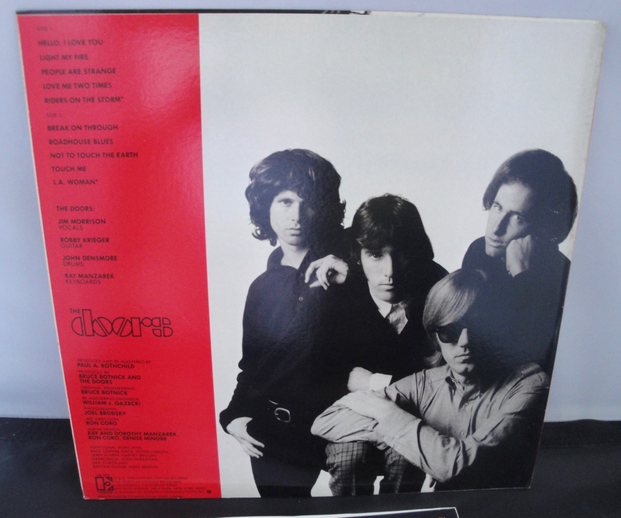 The Doors - Greatest Hits - Vinyl LP Elektra Records Club Edition & The Doors \u2013 Greatest Hits \u2013 Vinyl LP Elektra Records Club ... Pezcame.Com