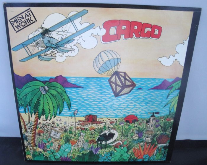Men At Work - Cargo - 1983 Vinyl LP in Excellent Condition