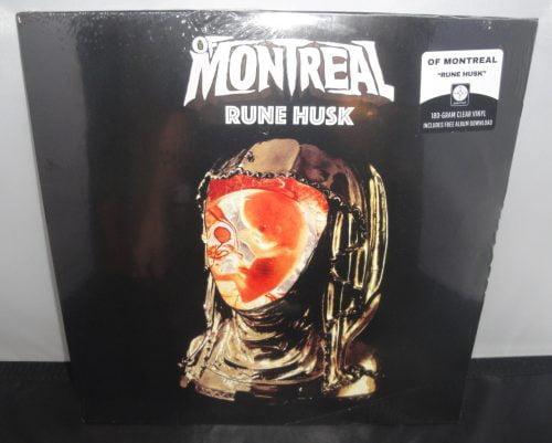of Montreal - Rune Husk - 180 Gram, Clear Vinyl, 2017 EP