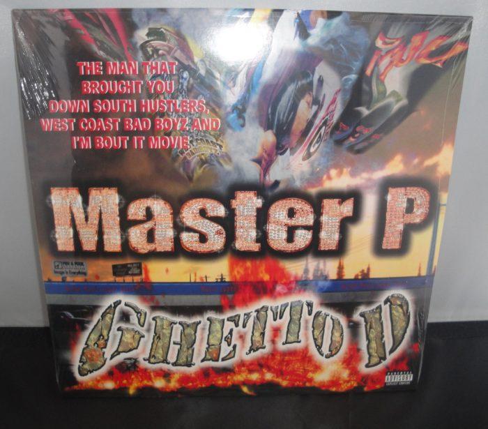 Master P - Ghetto D - 2XLP Vinyl, 2017 Reissue [Explicit Content]