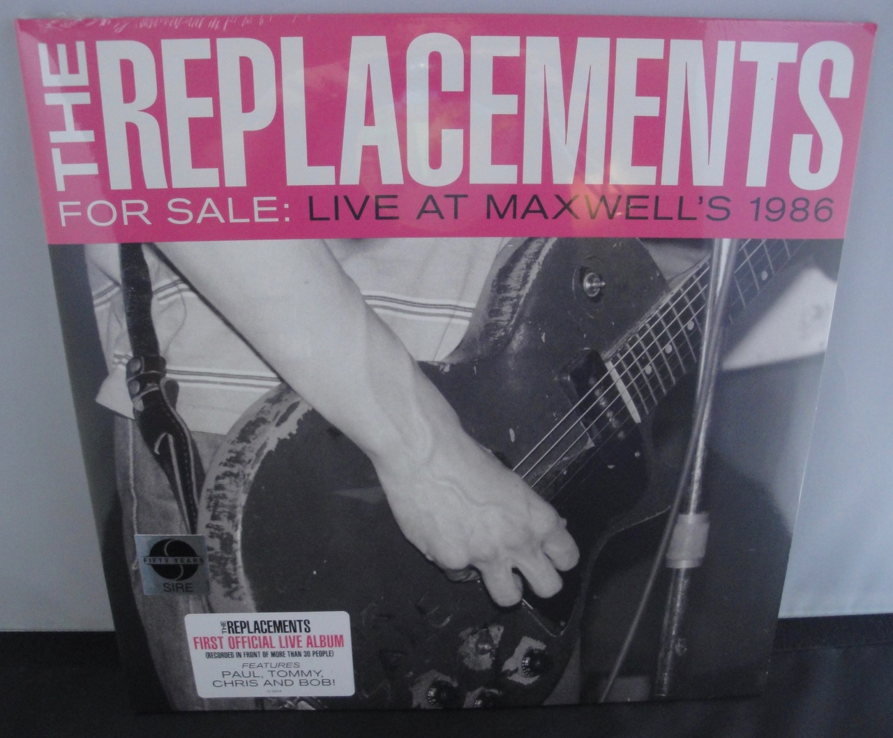 The Replacements - For Sale: Live At Maxwell's 1986 - 2XLP Vinyl, 2017