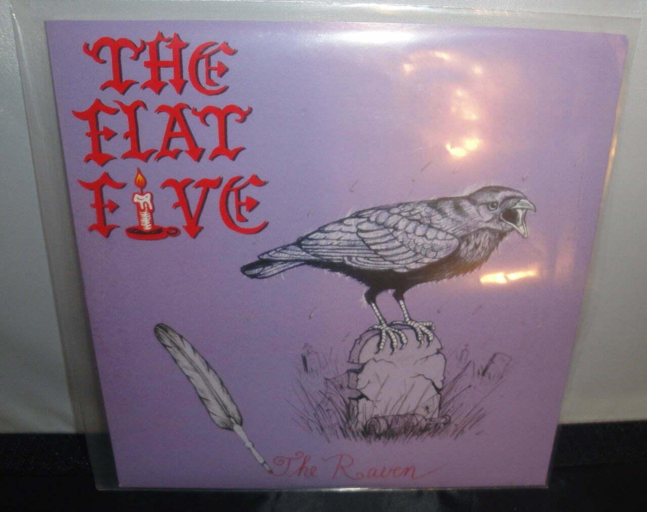 "The Flat Five - The Raven - 7"" Vinyl Single, Limited Edition, Smoky Orange"