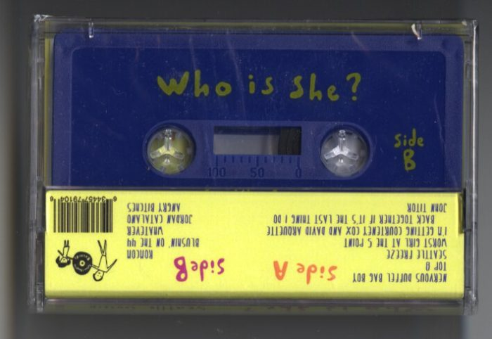 Who Is She? cassette