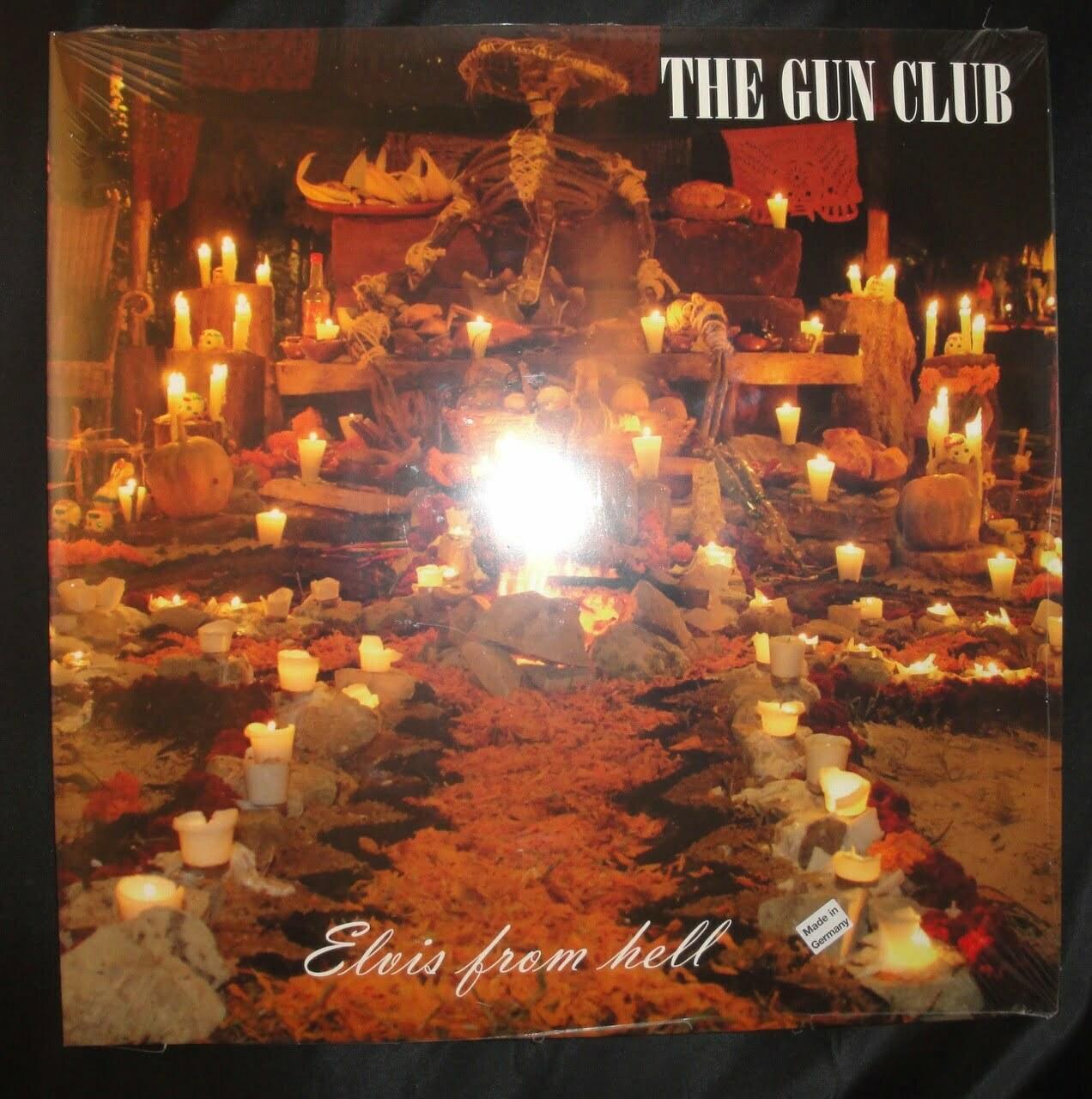 The Gun Club - Elvis From Hell - 2XLP Vinyl, Import, Rarities Compilation, 2017