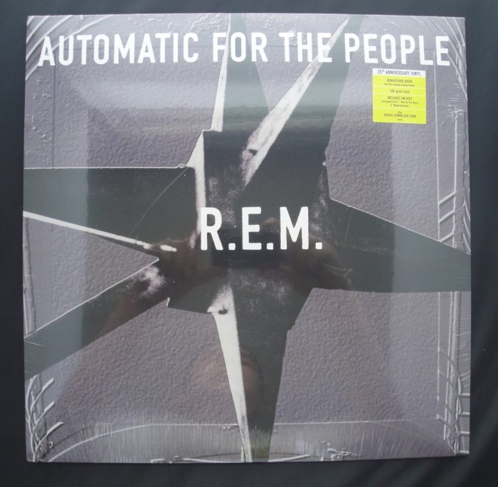 R.E.M. - Automatic For The People - 25th Anniversary Deluxe 180 Gram Vinyl LP, 2017