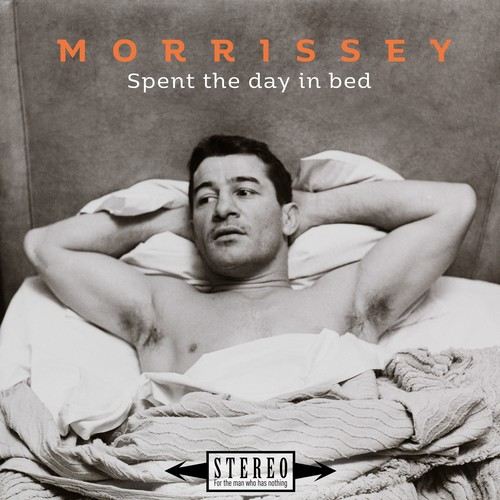 "Morrissey - Spent The Day In Bed / Judy Is A Punk (Live) - 7"" Clear Colored Vinyl Single"