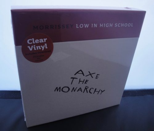 "Morrissey - Low In High School - Ltd Ed 7"" Single Boxed Set, 2017"