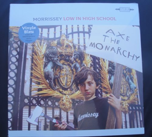 Morrissey - Low In High School - Blue Colored Vinyl, LP, 2017 (French)