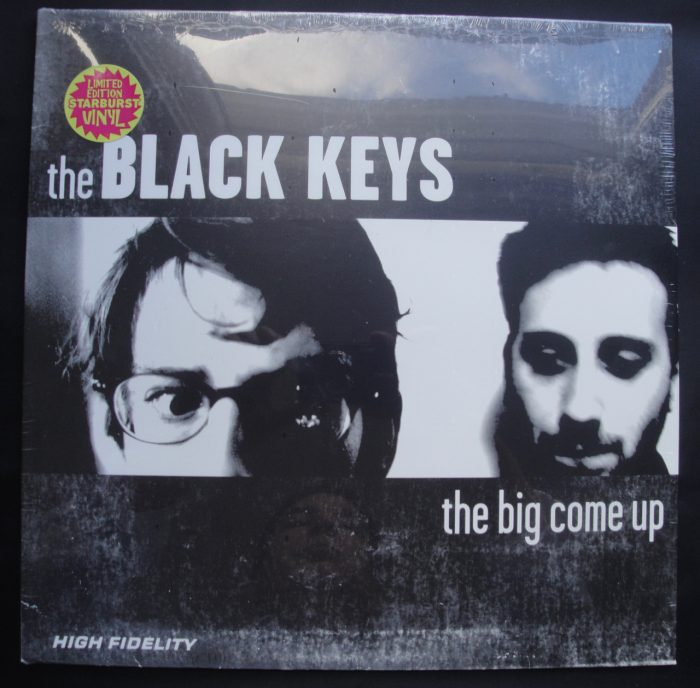 Black Keys - The Big Come Up - Ltd Ed Starburst Colored Vinyl, Reissue, 2017