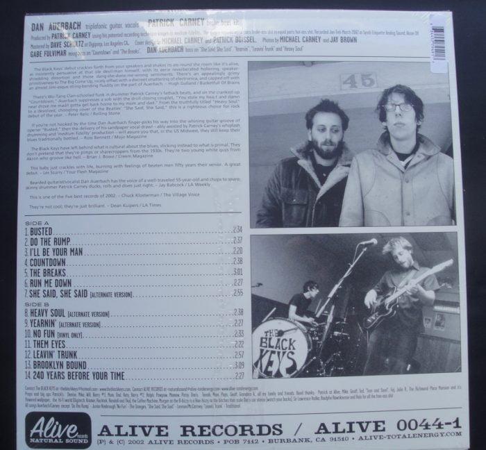 Black Keys - The Big Come Up - Ltd Ed Starburst Colored Vinyl, Reissue, 2017